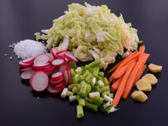 kimcsi zöldségek