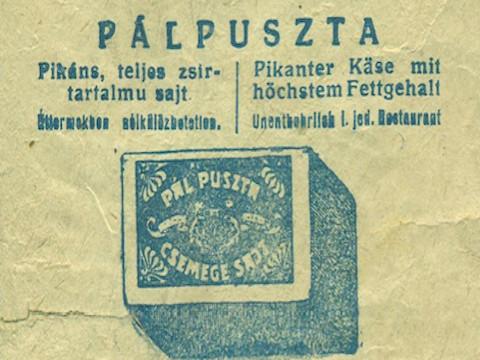Pálpusztai sajt receptje