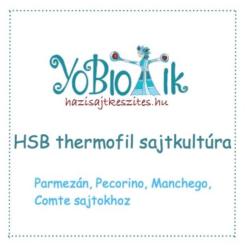 HSB termofil sajtkultúra - ömlesztve 500 literhez