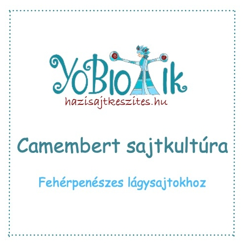 Camembert sajtkultúra - YoBiotik - 5 db