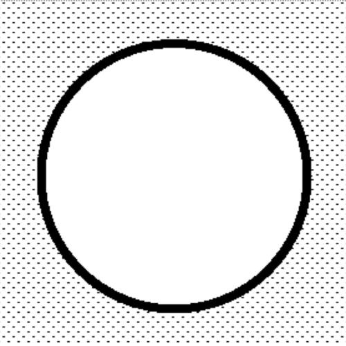 préslap kosár mintás, (150 mm)