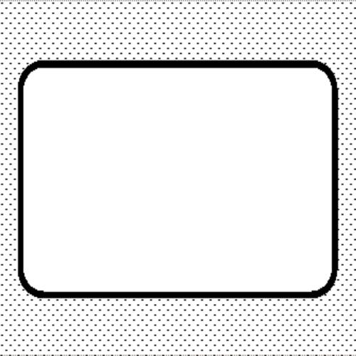 préslap, szögletes 1/2 kg-os formához (100x106 mm)