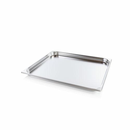 GN2/1 inox edény - 40mm